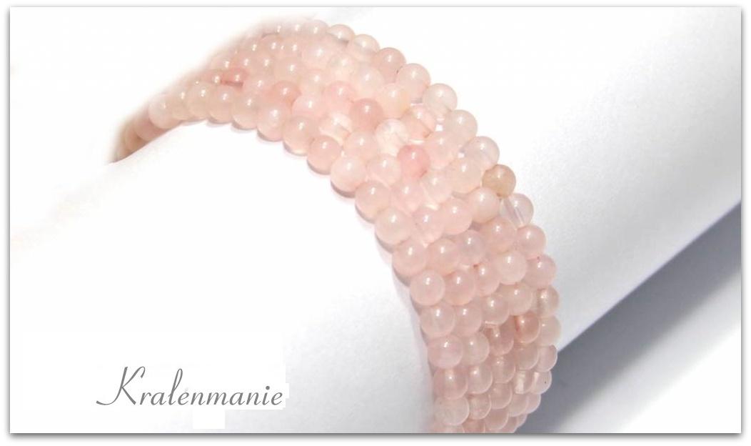 rozenkwarts-kralen-rond-ca-4mm