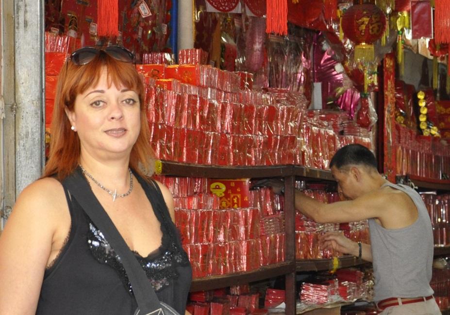 Slapende Chinese kappers - Ilona