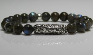 zilver klei armband
