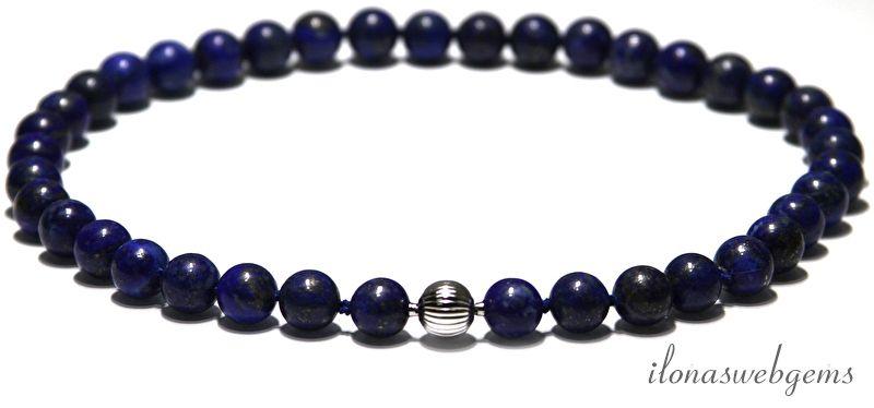 geknoopt lapis lazuli