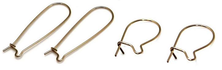 Zelf oorbellen maken - basic oorhaakjes